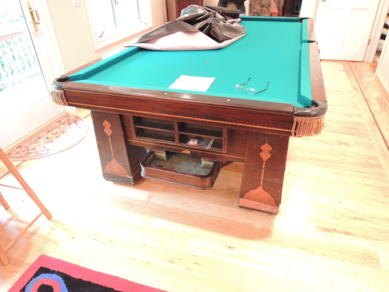 Pool Billiards And Antique Game Table Restoration Rose Valley - Pool table resurfacing